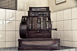 Old Cash Register in Ashton Slagtery