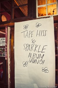 Tape Hiss and Sparkle album launch