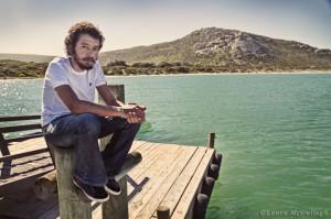 Leon on the Kraalbaai jetty