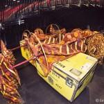 Cirque du Soleil Dralion backstage