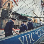 Aboard the 92 year old Russian Sailing ship, The Sedov