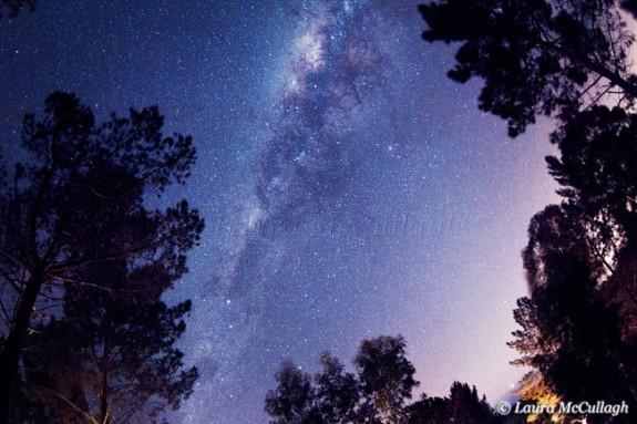 The Milky Way over Elgin