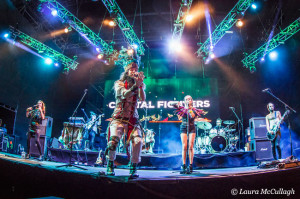 Crystal Fighters at Rocking the Daisies 2014