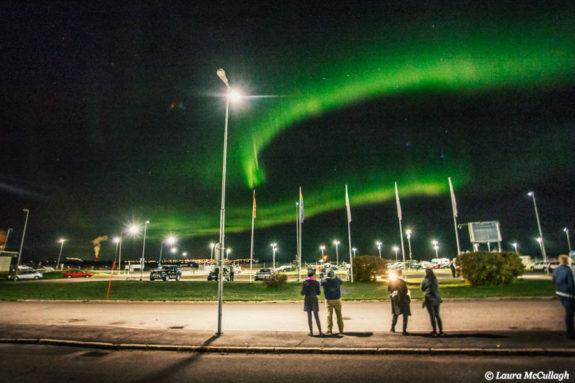 Aftershow aurora