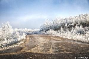 en route to Kiruna